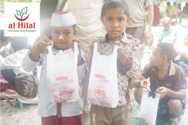 kurban untuk anak yatim dan papua