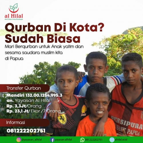 Qurban untuk papua