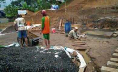 donasi wakaf semen pembangunan masjid